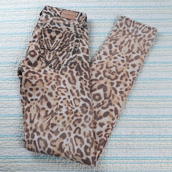 Ralph Lauren Denim - Ralph Lauren Denim Supply 25 Animal Skinny Jeans